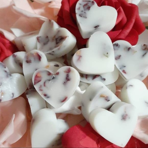 Hand Crafted Other - Handmade Vanilla Rose Bath Melts